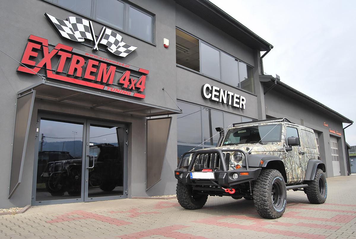 Jeep Wrangler JK na polowania