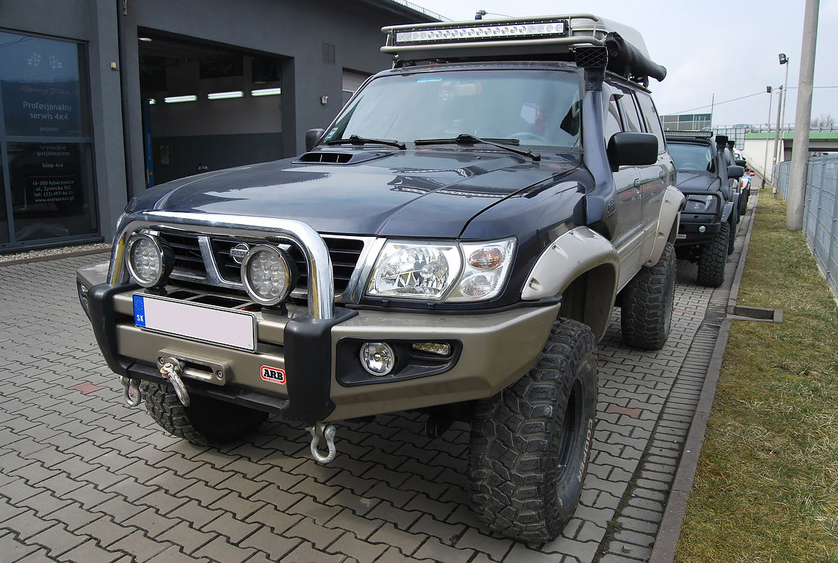 Nissan Patrol Y61 silnik Toyota 4,2TD 1HD-T Swap