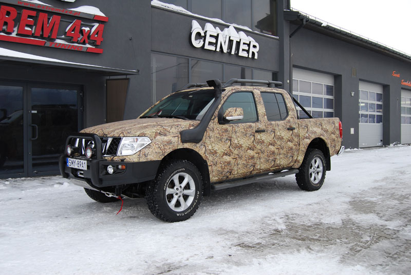 Nissan Navara D40 Hunter