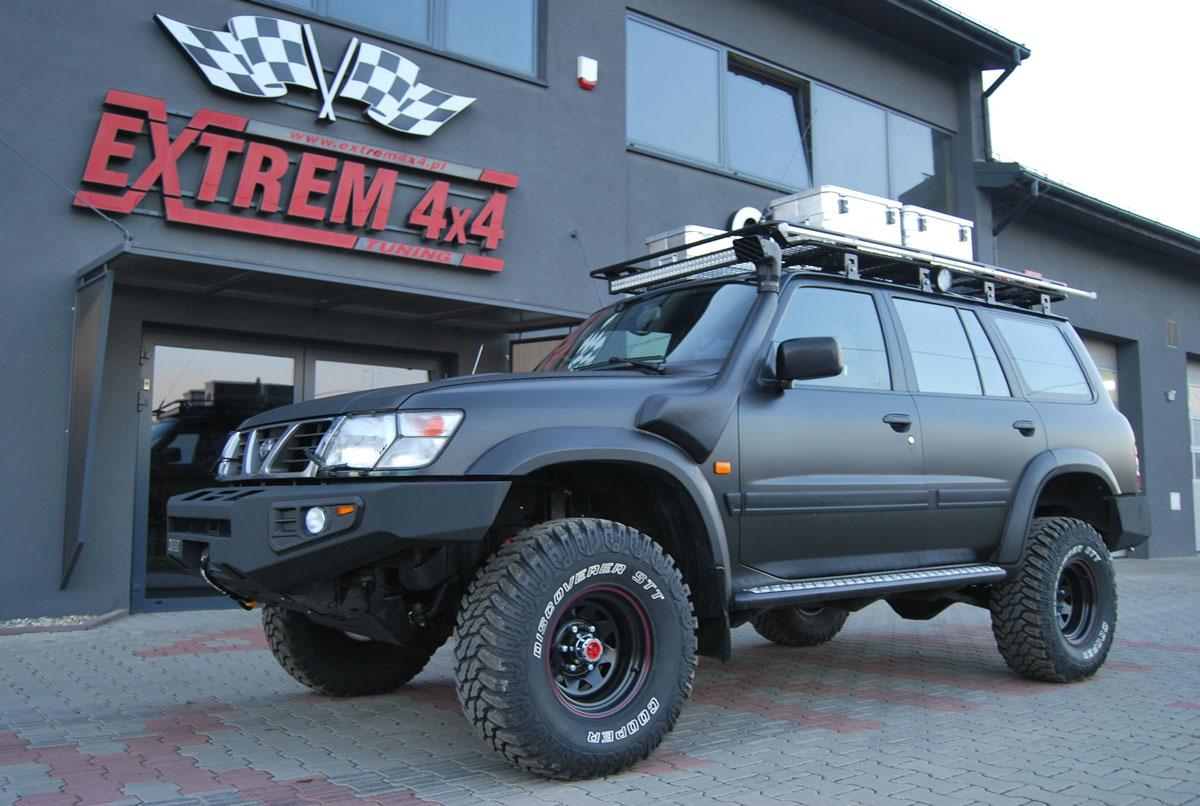Nissan Patrol Y61 4,2td 1HD-T Kamczatka