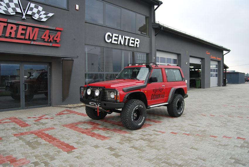 Nissan Patrol Y60 2,8TD EVO Red 2012