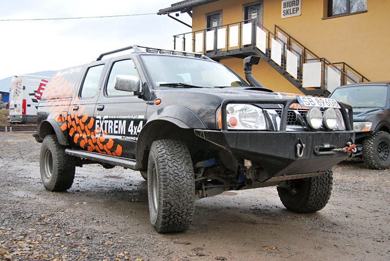 Nissan Navara D22 2.5 Off-road