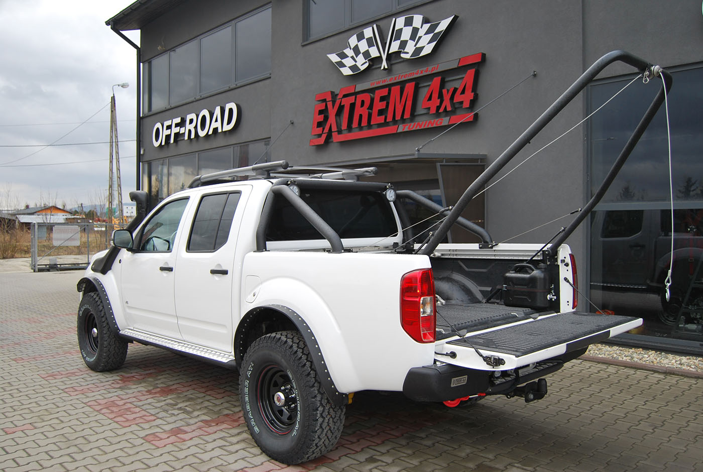 Nissan Navara D40 3,0V6 hunter