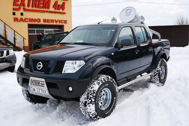 Nissan Navara D40 Big Foot
