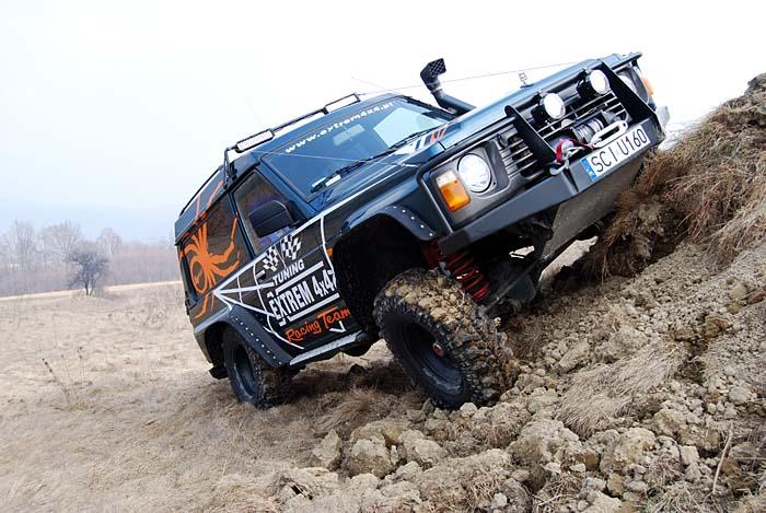Nissan Patrol Y60 EVO Spider