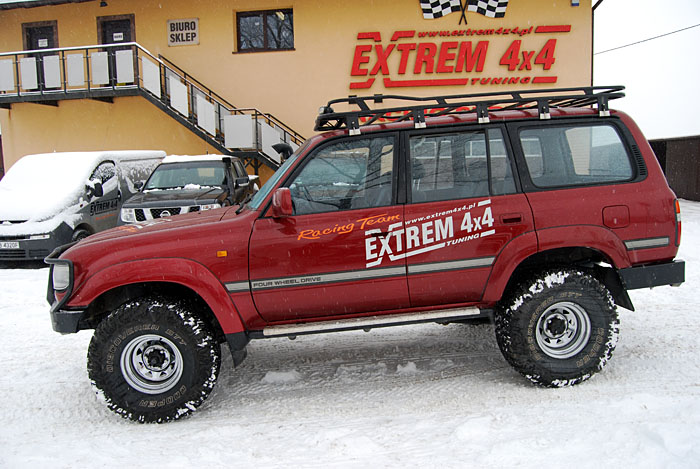 Toyota Land Cruiser HDJ80 Expedition m1