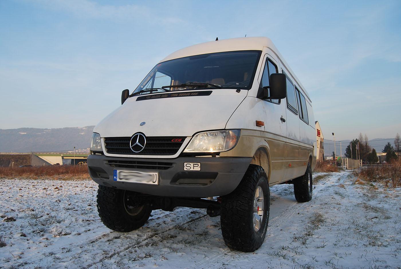 Mercedes Sprinter 4×4