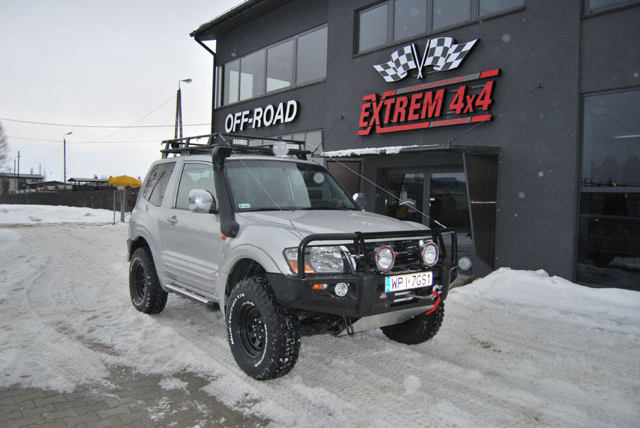 Mitsubishi Pajero III 3.2DID Off-road