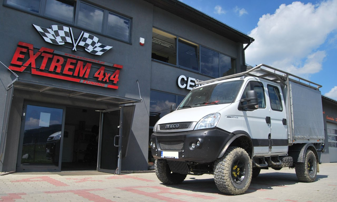 Iveco Daily 4×4 55S18