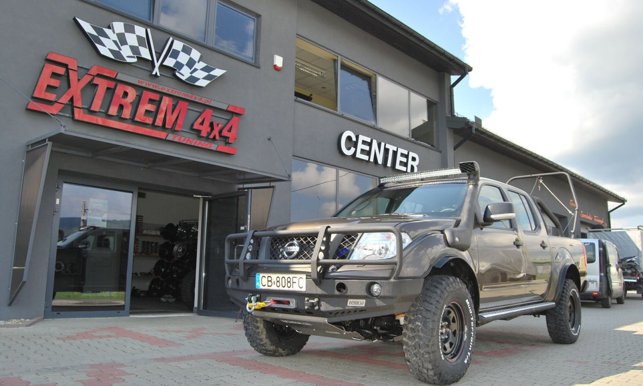 Nissan Navara D40 Hunter 2