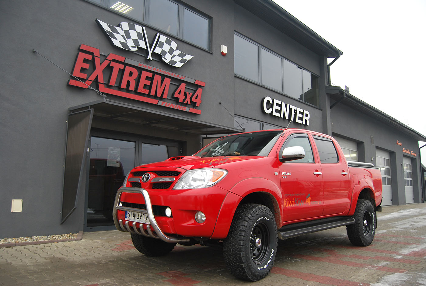 Toyota Hilux offroad 2016