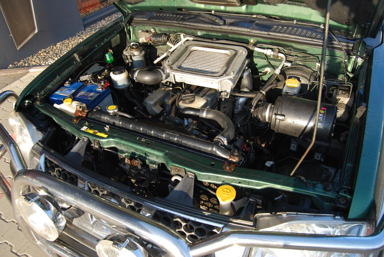 Nissan Pickup D22 swap silnika 2,7TD