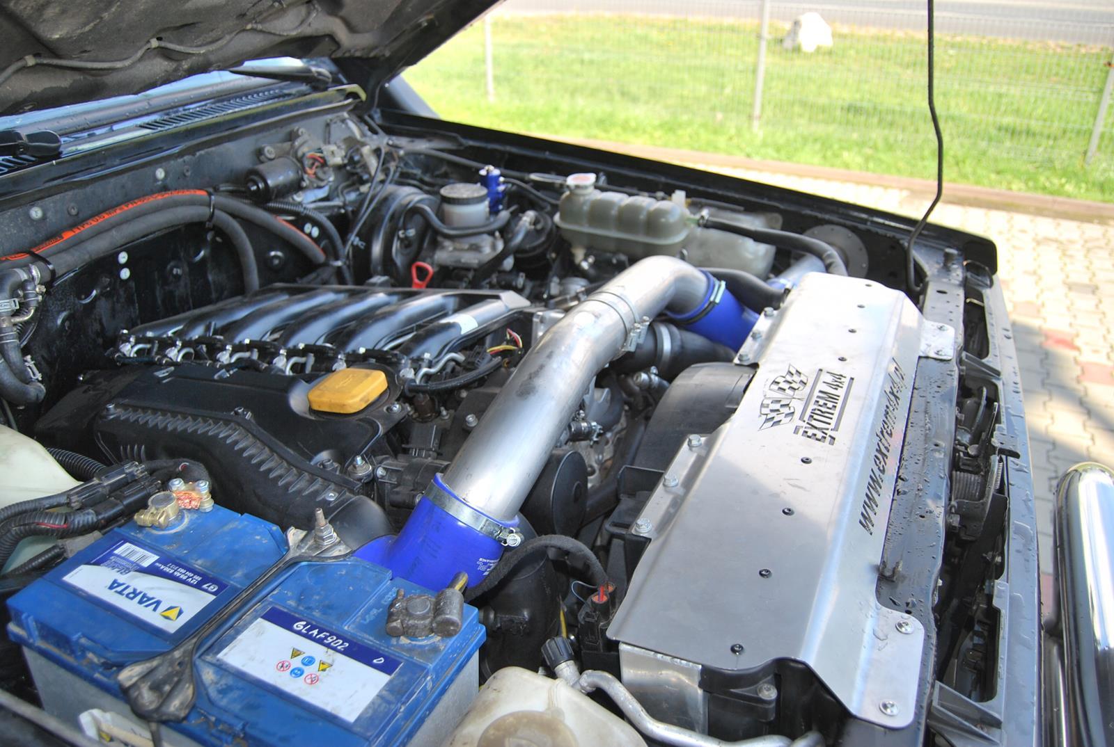 Nissan Patrol Y60 3,0d swap BMW