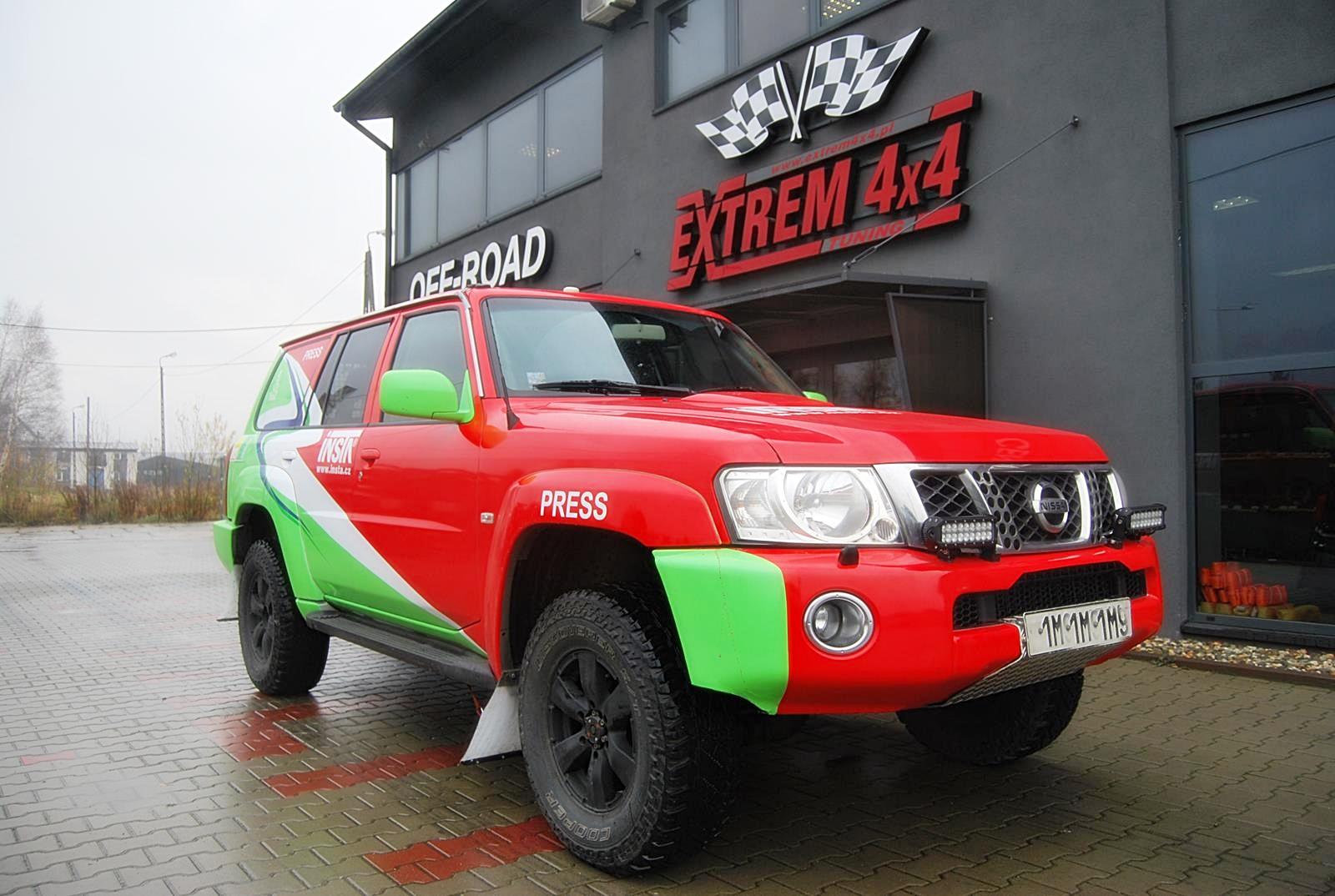 Nissan Patrol GU4 3.0d CZ  Dakar swap