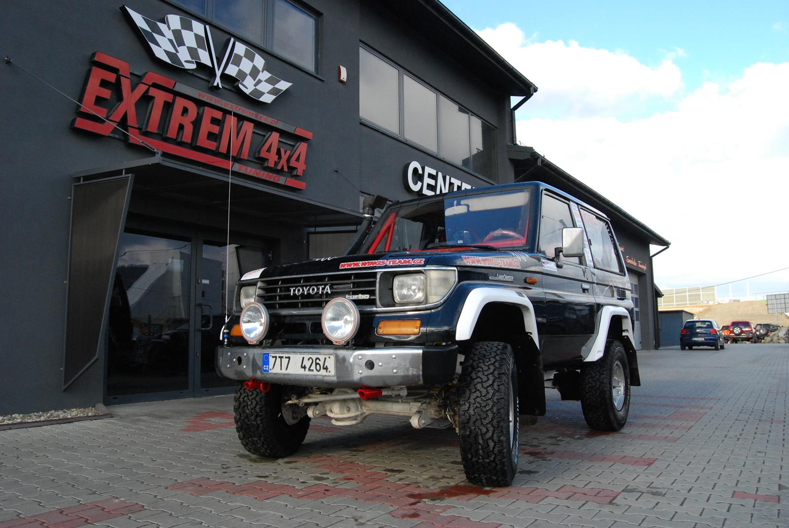 Toyota Land Criuser LJ70  Rshox Suspension