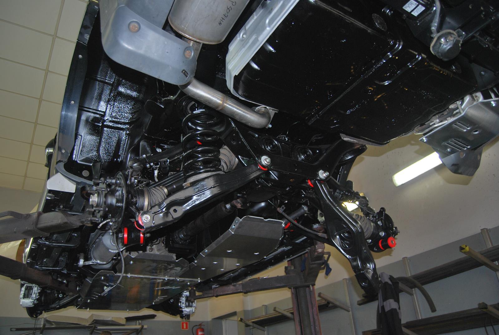 Mitsubishi Pajero IV renowacja