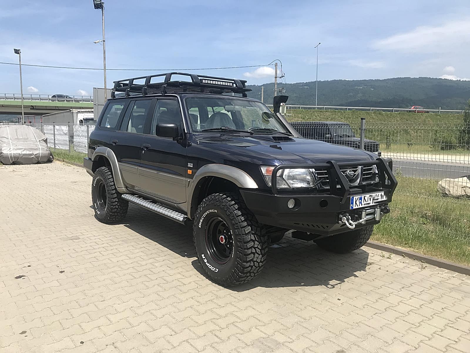 NIssan Patrol Y61 2,8TD Long