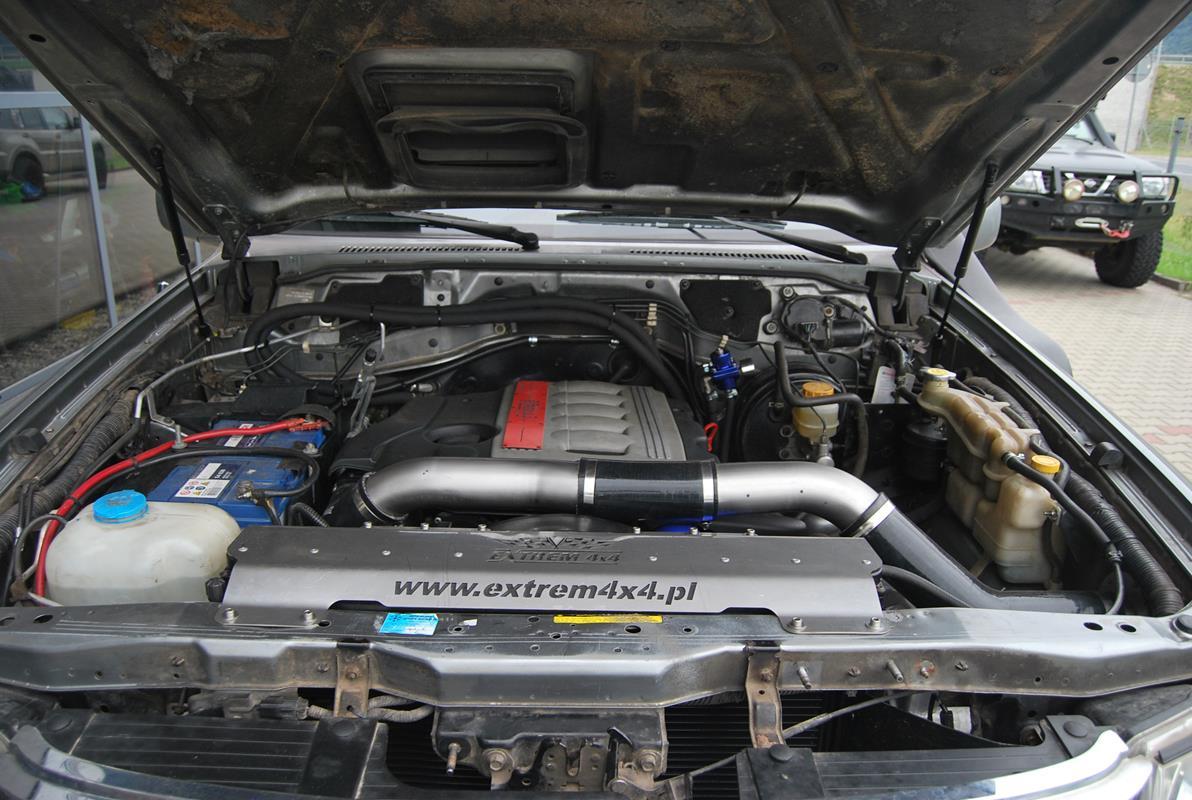 Nissan Patrol GU4 BMW SWAP