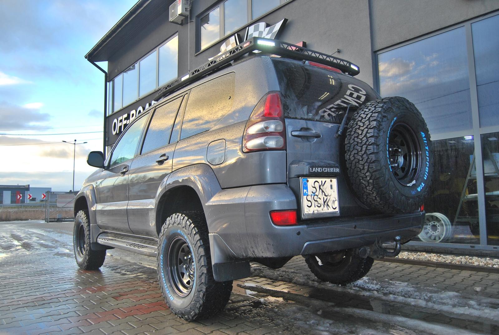 Toyota Land Cruiser 120 wyprawy